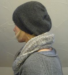 Free slouch beanie pattern from Owl Sister Like the fit!!! just the right slouch