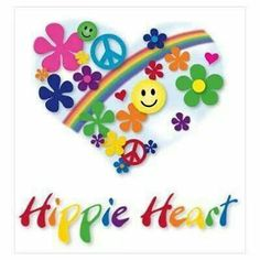 Happy faces, peace signs, flower power, and a rainbow of course! Hippie Peace, Happy Hippie, Hippie Love, Hippie Chick, Hippie Things, Hippie Vibes, Hippie Gypsy, Gypsy Soul, Peace Love Happiness