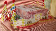 treat table | a vintage circus birthday party