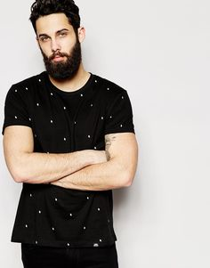 Image 1 ofCheap Monday T-Shirt All Over Arrows Print
