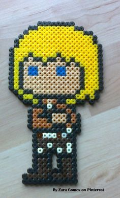 Armin Arlert - Attack on Titan hama beads by Zara Gomes
