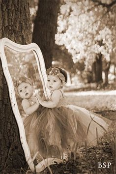 Mirror, mirror, on the wall, who is the prettiest baby of them all. - reflections - Baby Photo Ideas #Kids #Photography
