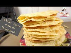Masa hojarasca - Recetasparati - YouTube Snack Recipes, Dessert Recipes, Desserts, Churros, Empanadas, Sushi, Pancakes, Chips, Sweets