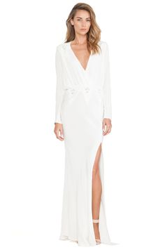 STONE_COLD_FOX Alabama Gown in White | REVOLVE