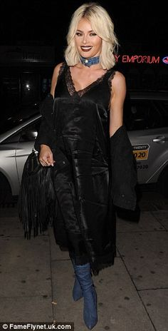 TOWIE's Chloe Sims flashes and Amber Dowding film at Faces nightclub