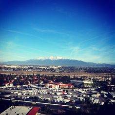 The view of the I.E. from Grand Terrace, CA :)