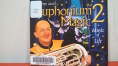 Music Mania Monday! The Harold Schiffman Music Library has an extensive collection of CDs! I bet you didn't know we have this one; it's entitled, Steven Mead in Euphonium Magic Volume 2: Music of Life from 2004. Steven Mead is an English virtuoso euphonium soloist who has recorded over 65 CDs.  For more information on Steve Mead, visit: http://www.besson.com/en/artistes/ambassadeur/steven-mead  #hsml #uncg #hsmluncg #haroldschiffmanmusiclibrary #musicmaniamonday #stevenmead