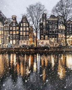 Amsterdam, les pays-bas en hiver - Madison Towery Amsterdam, the netherlands in Winter Amsterdam, les pays-bas en hiver Oh The Places You'll Go, Places To Travel, Travel Destinations, Travel Europe, Amazing Destinations, Belle Villa, Adventure Is Out There, Belle Photo, Dream Vacations