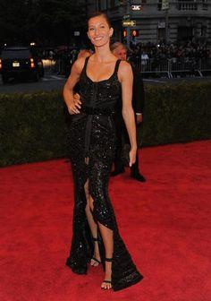 Bündchen de Givenchy no Met Ball 2012