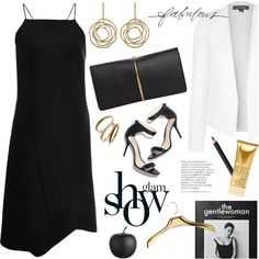 little black dress by jesuisunlapin on Polyvore featuring polyvore, fashion, style, Azede Jean-Pierre, Topshop, Nina Ricci, Judith Jack, INIKA, CB2 and Mike + Ally