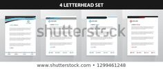Find Letterhead Template Set stock images in HD and millions of other royalty-free stock photos, illustrations and vectors in the Shutterstock collection. Letterhead Design, Letterhead Template, New Pictures, Land Scape, Royalty Free Photos, Announcement, Create Yourself, Templates, Letterhead
