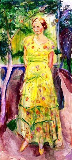 Edvard Munch - Henriette Olsen, 1932