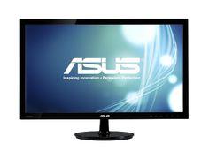 "ASUS VS228H-P 21.5"" Full HD 1920x1080 HDMI DVI VGA Back-lit LED Monitor - https://www.webmarketshop.com/asus-vs228h-p-21-5-full-hd-1920x1080-hdmi-dvi-vga-back-lit-led-monitor/"