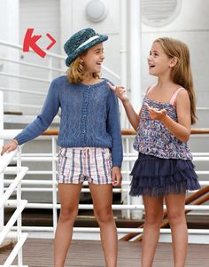 knited cardigan¬top for girls