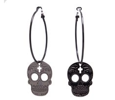 sugar metal skulls