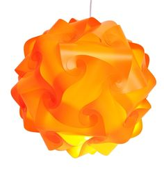 Fding Modern IQ Puzzle Lampshade for DIY Home Decor Art Decor- Jigsaw Lights Lampshade (Medium, Orange) ** Learn more by visiting the image link. (This is an affiliate link and I receive a commission for the sales)