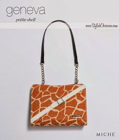 A Stylish Obsession ♥  Behind the Name  Geneva Petite Shell. See Miche s  newest ef7bc3bce