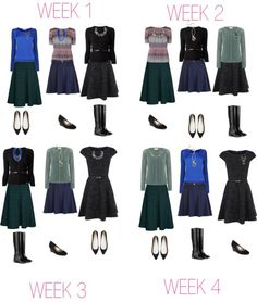 Pear Shaped P/T Capsule Work Wardrobe