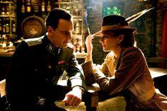 Lt. Archie Hicox and Bridget von Hammersmark, Inglourious Basterds