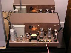 Marantz model 2 Blocs mono. Le premier ampli à tubes produit par Saul B. Marantz