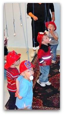 Great 3 Year Old Birthday Party Idea: A Firefighter's Party! – – Great 3 Year Old Birthday Party Idea: A Firefighter's Party! 1st Birthday Party Games, Fireman Party, Firefighter Birthday, Kids Party Games, Birthday Ideas, 4th Birthday, Frozen Birthday, Frozen Party, Firefighter Games