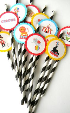 12 CIRCUS PARTY STRAWS, CIRCUS BIRTHDAY, CARNIVAL THEME, FIRST BIRTHDAY, CARNIVAL, STRIPED STRAWS, FESTIVE DECOR, CIRCUS PARTY, BABY SHOWER #babyshowerideas4u #birthdayparty #babyshowerdecorations #bridalshower #bridalshowerideas #babyshowergames #bridalshowergame #bridalshowerfavors #bridalshowercakes #babyshowerfavors #babyshowercakes