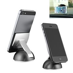 TecHERE TT1 - Universal Micro-suction Car Mount Holder for mobile phones / smartphones - High Quality ad Stylish Car Cradle compatible with iPhone 6s 6 6plus 5s 5c 5 4s, Samsung Galaxy S6 S3 S2, Lumia, Sony Xperia, Huawei and other devices - Multi-angle 360 degree rotation , http://www.amazon.co.uk/dp/B017Y3UUF0/ref=cm_sw_r_pi_dp_uKP8wb183F2DN