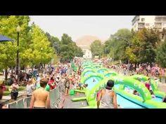 全長300m!都会のど真ん中でウォータースライドを楽しむイベント開催 − ISUTA(イスタ)オシャレを発信するニュースサイト