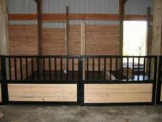 Mini Horse Stalls