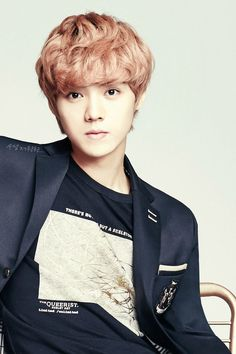 EXO's Luhan in IVY Club for Back To School photoshoot.