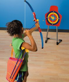 Skillbuilder Bow & Arrow Target Set #zulily #zulilyfinds