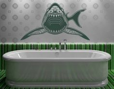 WallSpirit - Wall Decals, Decor and Tattoos - shark mouth - best sellers