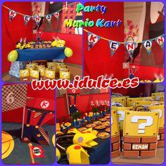 Fiesta Mario Kart, 6 años   #birthday #mariokart #partymario #6 #mariobros #party #pecha #carrera #tematica #kart