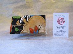 Japanese Credit Card Case Royal Chrysanthemum by KimonoTango