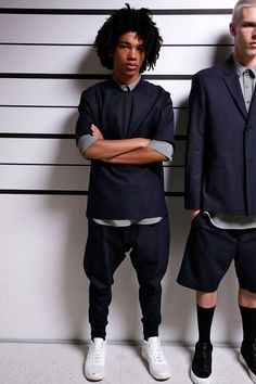 Public School SS16.  The Trotteur Menswear Mens Fashion Mens Style Fashion Style Luxury Photography Public School Runway New York Fashion Week Streetwear Art Design Culture Lifestyle