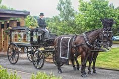 olde english funeral carriage