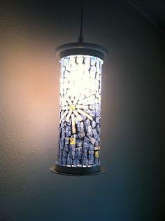 Auntie Kara's Crafts: Upcycled Lamp Shade