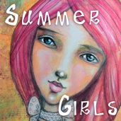 "New Mini Art Workshop ""Summer Girls"" now FOR SALE :-) YAY!"