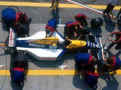 Riccardo Patrese, 1991 Williams FW14
