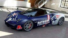 New Englad Patriots Car