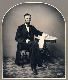 Abraham Lincoln by Alexander Gardner  1863, printed 1901