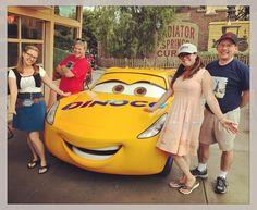 Finally met #cruzramirez the other day at #dca @disneyland! @fangirlcantina #Cars3 #carsland