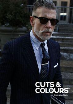 Voor de stijlvolle man met grijs haar | Cuts & Colours verkoopt de producten die jouw grijze haar net dat beetje extra aandacht geeft dat het haar nodig heeft!