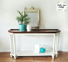 Hall stand vintage chalk paint