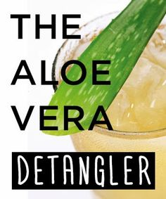 Tip of the Day: Detangle and Define Your Natural Hair With Aloe Vera - CurlyNikki