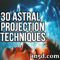 Are you curious about Astral Projection or having an Out Of Body Experience (OOBE)? The following are 30 innovative techniques for inducing astral projections and OOBE's!