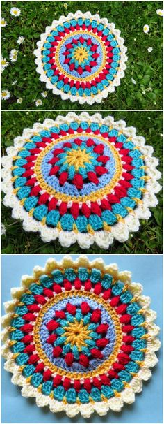 60+ Free Crochet Mandala Patterns - Page 12 of 12 - DIY & Crafts