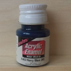 Pactra ACRYLIC PAINT - Navy Blue (A49) for model-making and craft. by AllScalesModels on Etsy Navy Blue, Unique Jewelry, Handmade Gifts, Model, How To Make, Crafts, Painting, Etsy, Vintage