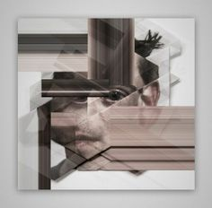 Past Futur Perfekt: Distorted Origami Faces by Aldo Tolino   /   http://photovide.com/?p=174593