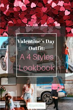 Valentine's Day Outfit: A 4 Styles Lookbook -